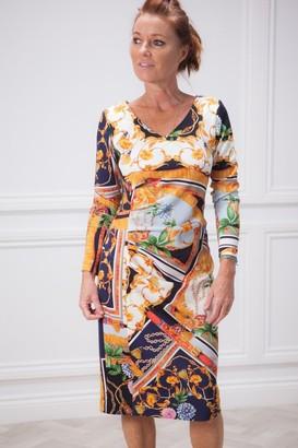 Riani Print Dress - 12