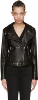 Mackage Black Leather Hania Jacket