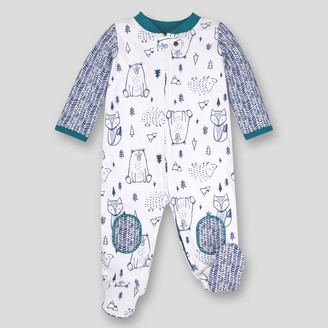 Lamaze Baby Boys' Organic Cotton Woodland Sleep 'N Play -