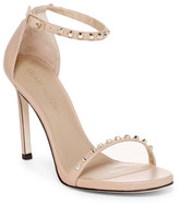 Stuart Weitzman What A Stud Ankle Strap Sandal - Wide Width Available