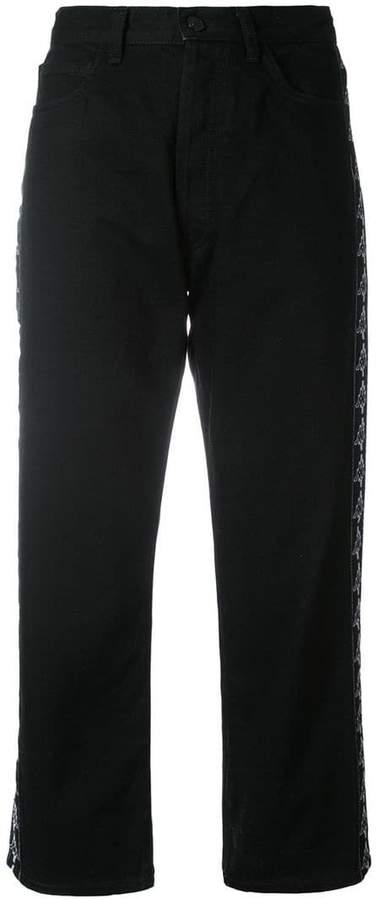 Marcelo Burlon County of Milan Kappa boyfit jeans
