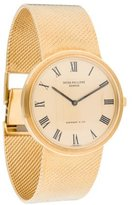Patek Philippe Tiffany & Co. 3591/2 Calatrava Watch