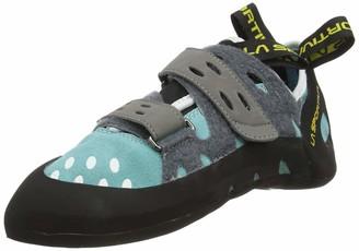 La Sportiva Girls' Tarantula Woman Climbing Shoe Turquoise/Turquoise / 000 2.5 UK