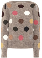 Marc Jacobs Polka-dotted wool sweater