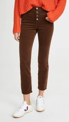 AG Jeans Isabelle Corduroy Button Up Pants