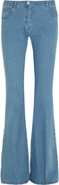 Michael Kors Mid-rise flared bootcut jeans