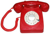 LNCHome Rotary Dial Desk Corded Telephone