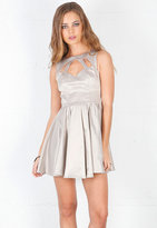 Singer22 Keepsake Second Nature Dress in Stone