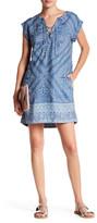 Jessica Simpson Samantha Print Shift Dress