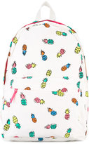 Stella McCartney pineapple print backpack - kids - Cotton/Polyester/Polyurethane/Spandex/Elastane - One Size