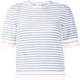 Sonia Rykiel striped top - women - Cotton/Polyamide - M