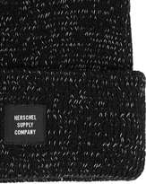 Herschel Black And White Fleck Beanie Hat