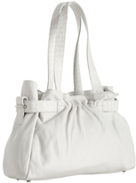 white leather 'Raisa' small shopper