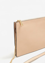 MANGO Saffiano-effect cross-body bag
