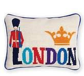 Jonathan Adler Jet Set London Pillow, 9 x 12