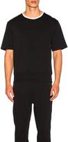 3.1 Phillip Lim Wide Rib French Terry Short Sleeve Shirt