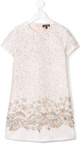 Roberto Cavalli sequin embellished dress - kids - Silk/Polyester/Acetate/Cupro - 8 yrs