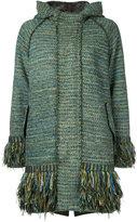 Coohem military tweed coat - women - Cotton/Acrylic/Nylon/Wool - 38