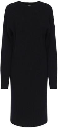 Bottega Veneta Knit Wool & Cotton Blend Sweater Dress