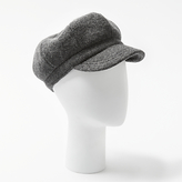 John Lewis Bakerboy Monochrome Wool Hat