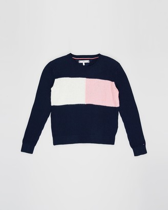 Tommy Hilfiger Essential Colourblock Sweater - Teens