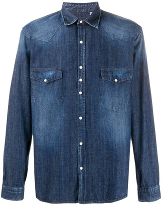 Costumein Denim Long-Sleeve Shirt