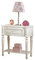 ACME Furniture Dorothy Kids 1 Drawer Nightstand - Ivory - Acme