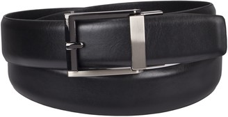 Kenneth Cole Reaction Men's 1.3 in. Wide Adjustable Trackless Perfect Fit Slide Belt