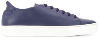 Giorgio Armani flat lace-up sneakers