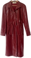 Valentino Patent leather trench