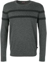 Michael Kors contrast stripe jumper