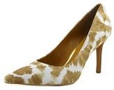 Lauren Ralph Lauren Sarina Women Pointed Toe Leather Multi Color Heels.