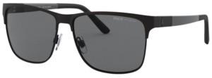 Polo Ralph Lauren Polarized Sunglasses, PH3128 57