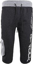Envy Boutique Mens Denim Design Sport Training Casual Trousers Fleece Jogging Shorts L