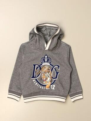 Dolce & Gabbana Dolce Gabbana Sweatshirt With Logo Print