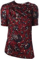 Etoile Isabel Marant floral knot detail top - women - Cotton - 38