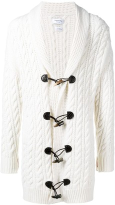 Thom Browne Aran Cable Cashmere Cardigan