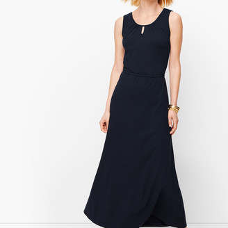 Talbots Jersey Maxi Dress- Solid