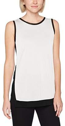 Sisley Women's Round Neck Tank-top Vest,Medium
