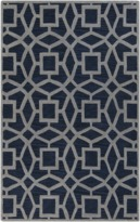 The Well Appointed House Surya Dream Rug in Navy and Light Gray-Available in a Variety of Sizes