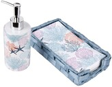 Thumbnail for your product : Seventh Studio Underwater 3-Piece Guest Bath Napkin Set Bedding