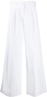 Jejia Wide Leg Cotton Trousers