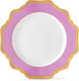 Anna Weatherley Purple Rimmed Bread & Butter Plate