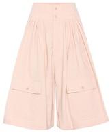 Chloé Jupe-culotte en coton et lin