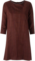 Andrea Bogosian - shift dress - women - Linen/Flax/Viscose/Wool - P