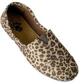 Dawgs Women's Exotic Kaymann Loafer Black/Chestnut Leopard Print Size 9 M