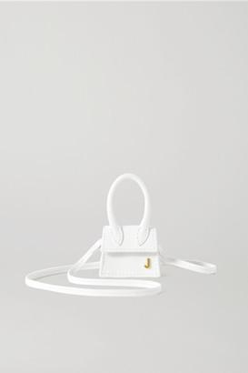 Jacquemus Le Chiquito Petit Leather Tote - White