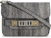 Proenza Schouler Petite Ps11 classic mini snakeskin cross-body bag