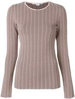 Stella McCartney checked jumper