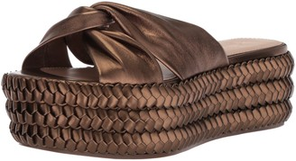 Rachel Zoe Women's Polly Flatform Braid Platform